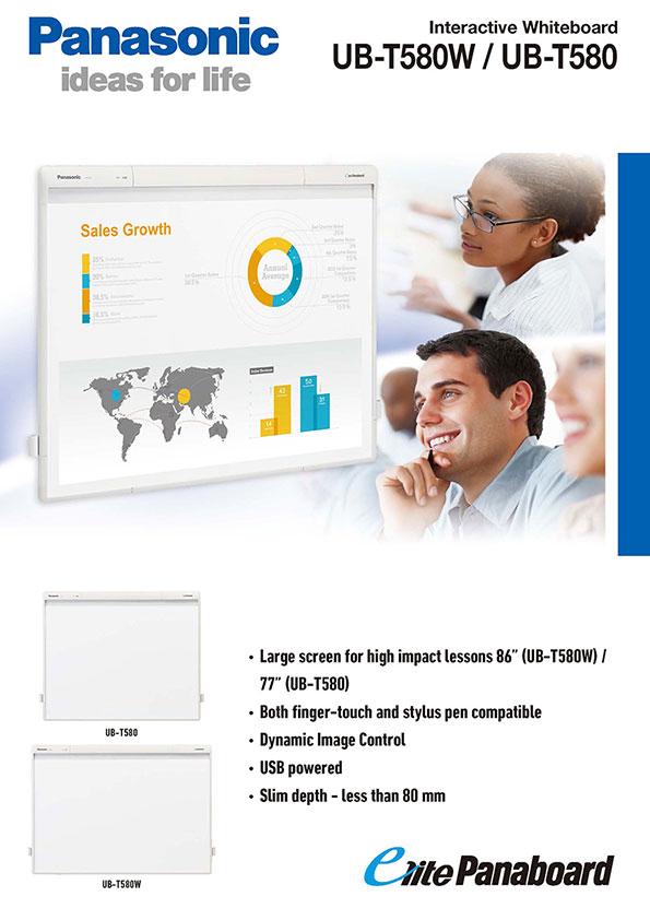 Interactive whiteboard 580w